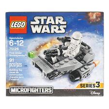 Lego Star Wars 75126 First Order Snowspeeder Microfighters Series 3