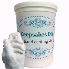 Keepsakes DIY Hand Casting Kit Plaster Anniversary Memory Gift NEW