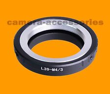M39 Leica LTM LSM Lens to Micro Four Thirds m4/3 m 4/3 mount adapter for Olympus