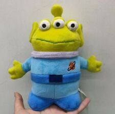 """Disney Store Authentic Toy Story 3 Alien with antenna 8"""" Bean Bag Plush Doll"""
