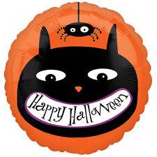 Halloween Gato Negro & Araña Globo Metalizado de Helio Decoración Fiesta