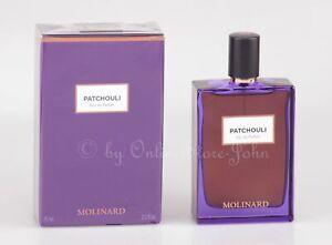 Molinard - Patchouli - 75ml Eau de Parfum