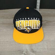 NHL Mitchell & Ness Pittsburgh Penguins Snapback Hat
