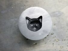 Graphite Mold: Cat's Face