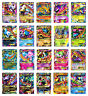 20Pcs Pokemon Card Mega EX Booster Pack Holo Pokemon TCG Card Game Toy Kids Gift