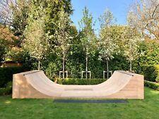 4ft High x 10ft Wide Half pipe Skate Ramp Halfpipe Skateboard Scoot Mini Ramp
