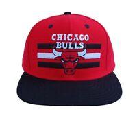 Chicago Bulls Red Black Billboard Adjustable Snapback Hat Cap