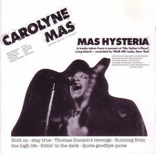 Carolyne Mas – Mas Hysteria CD NEW