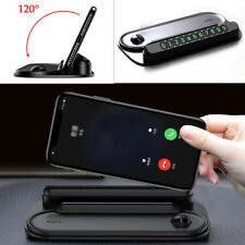 Car Phone Holder Mount Holder with Phone Number Plate For Temporary Parking Good