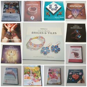 Jewellery Maker DVD Guest Designer Alison Tarry Various Titles PAL Format