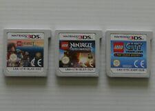 LEGO - CITY UNDERCOVER - NINJAGO l'OMBRE DE RONIN - LE HOBBIT - NINTENDO 3DS