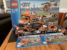 Lego City Helicopter Transporter Set 7686