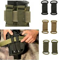 """Airsoft  tactical 2""""  belt loop  for Molle pouch adaptor tactical ( 2 UNITS)"""