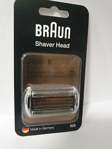 Braun Series 9 92S Elektrorasierer Ersatzscherteil Silber