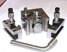 Boxford Schnellspann Stahlhalter mit 2 Halter (Ref: 390002) Drehbank Werkzeug