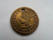 1868 - United States - tiny medallion -