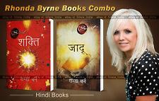 2 Combo Books Hindi Rhonda Byrne, The Power (Shakti) & The Magic (Jadu)