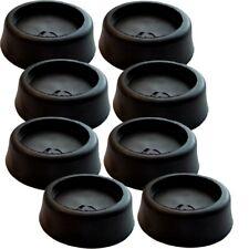 Gummi Schwingungsdämpfer Vibrationsdämpfer für Waschmaschinen & Trockner 8er-Set