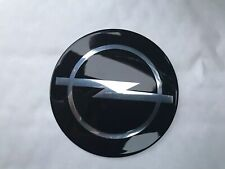 Opel metal badge emblem 70mm domed. Calibra, Corsa, Omega, Astra