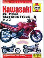 KAWASAKI SHOP MANUAL SERVICE REPAIR BOOK HAYNES 250 NINJA 250R 500 VULCAN LTD450