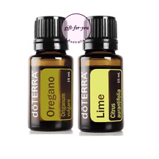 doTERRA Lime Oregano 15ml Duo Therapeutic Grade Essential Oil Aromatherapy