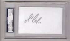 Mario Lemieux Signed 3x5 Index Card Psa Dna Nhl Autograph Pittsburgh Penguins #1