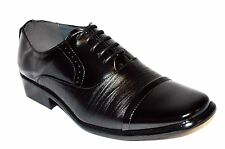 New Men's Lace-Up Oxfords Wedding Formal Church Party Dress Shoes 3 colors Gavin