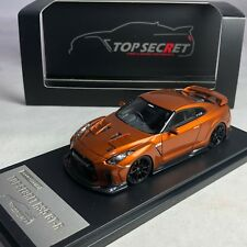 1/43 Hi-Story Tiger gate Japan Top Secret Skyline R35 GT-R Orange 2018