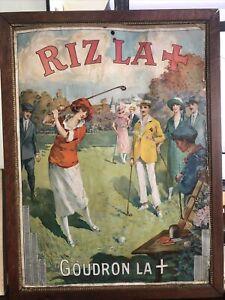 publicite ancienne Riz La Croix 1924