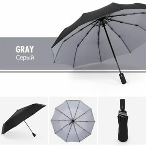 Automatic Folding Umbrella Windproof Strong Bones For Unisex Gifts Accessories