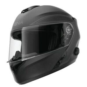 SENA Outrush Modular Flip-Up Bluetooth Integrated Helmet Matte Black Medium