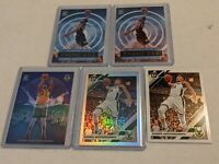 2019-20 Optic Giannis Antetokounmpo Silver Holo Prizm Refractor lot of 5 BUCKS