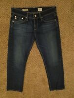 Anthropologie AG Adriano Goldschmied the Tomboy Crop relaxed straight sz 27