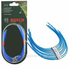 10 x BOSCH Strimmer Grass Trimmer Spool Line ART 30 COMBITRIM 30cm F016800182