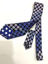 Cravates bleus pour homme en 100% soie