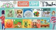 More details for royal mail stamps presentation pack 545 classic toys (2017) free uk p&p