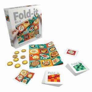 ThinkFun Fold-It Fabic Matching Game Innovatice Folding Brainteaser