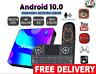 New X88 Pro Android 10.0 Smart TV BOX 4G 64G 4K 3D Full HD Bluetooth Set Top Box
