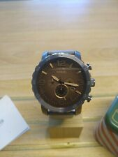 Fossil Herrenchronograph Uhr, Nate, XL, JR1424, OVP, neue Batterie, neues Band