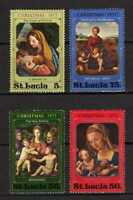 15524) St.Lucia 1973 MNH New Christmas - Natale