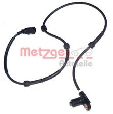 Sensor, Raddrehzahl für Bremsanlage Hinterachse METZGER 0900269