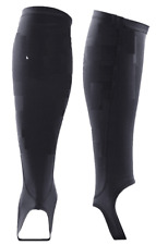 2Xu Unisex Lkrm Compression Calf Guards with Stirrups - Black - Large