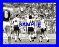 Photo originale-Paul Mariner Graham RIX Phil Thompson england v Tchécoslovaquie