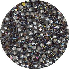 451041*** 50 STRASS ANCIENS FOND CONIQUE GRIS/BEIGE 3mm