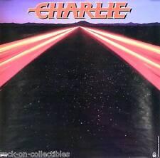 Charlie 1983 Rare Original Self Titled Promo Poster