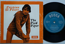 CRISPIAN ST PETERS The Pied Piper RARE Ep AUSTRALIA '65 Jimmy Page Led Zeppelin