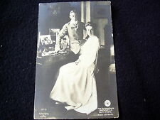 VERY OLD PPC: WILHELM VON PREUSSEN & CROWNPRINCESS CECILIE~ca 1904~LIERSCH & CO
