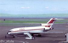 Pacific Southwest Airlines Boeing 727  airplane postcard (#3)