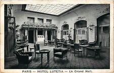 CPA Paris 6e Paris-Hotel Lutétia-Le Grand Hall (312886)