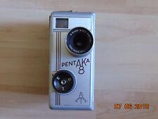 Pentacon 8mm Schmalfilmkamera Pentaka 8- Biotar 2/12,5 Carl Zeiss Jena mit Tasch